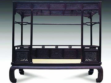 Ming qing furniture bed