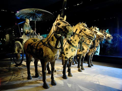 The Bronze Horse Chariot