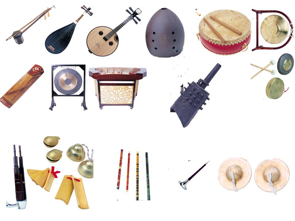Ttaditional Chinese Musical Instruments