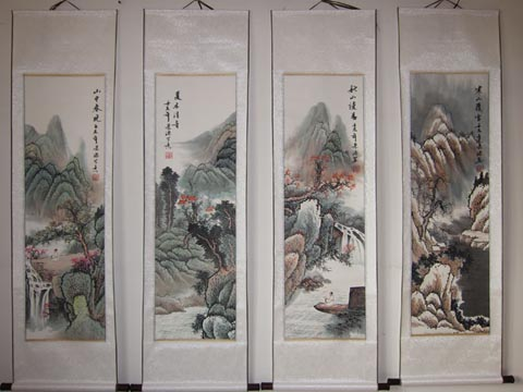 Four Seasons Scroll
