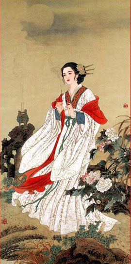 Chinese ancient beauty Diaochan