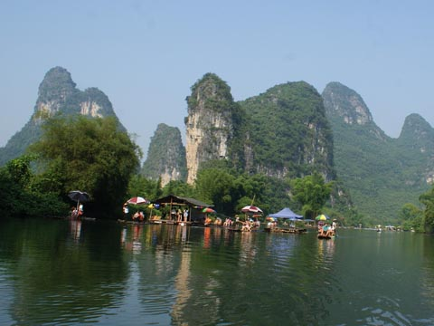 The Dock on The Li River