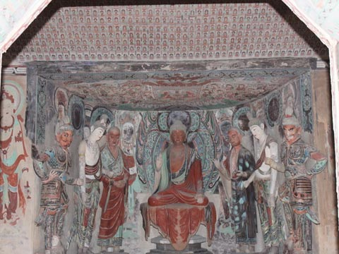 dunhuang earth statues