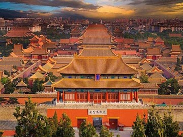 Panorama of the Forbidden City