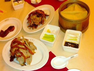 Peking Roast Duck Dish