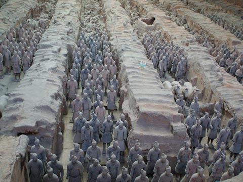 The Terra Cotta Warriors and Horses Museum Pit1