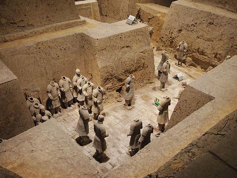 The Terra Cotta Warriors and Horses Museum Pit3