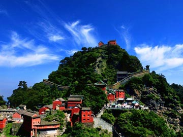 the summit of mount wudang