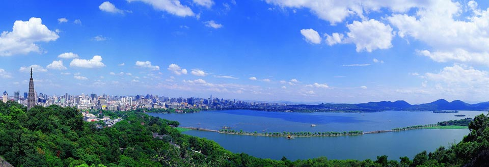 Hnahzhou west lake